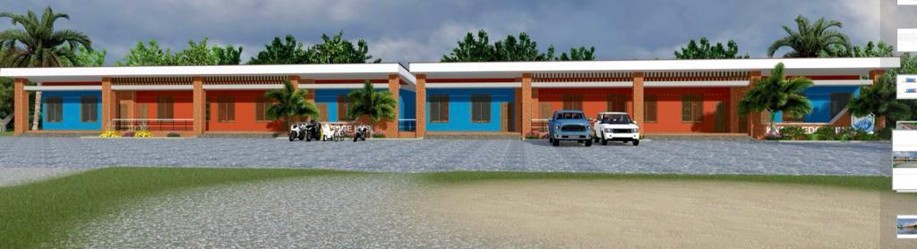 Agbodza cuts sod for ¢1m 8-unit classroom block for Adaklu Senior High School