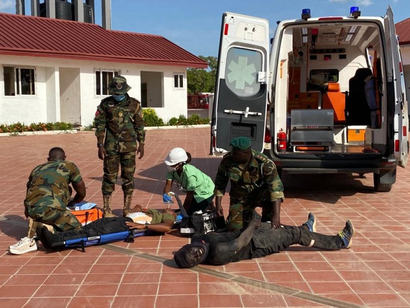 GAF commences Exercise Eagle Claws 2021 counter terrorism drill