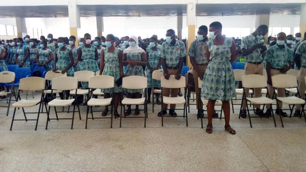1975 Sekondi College year group visits alma mater