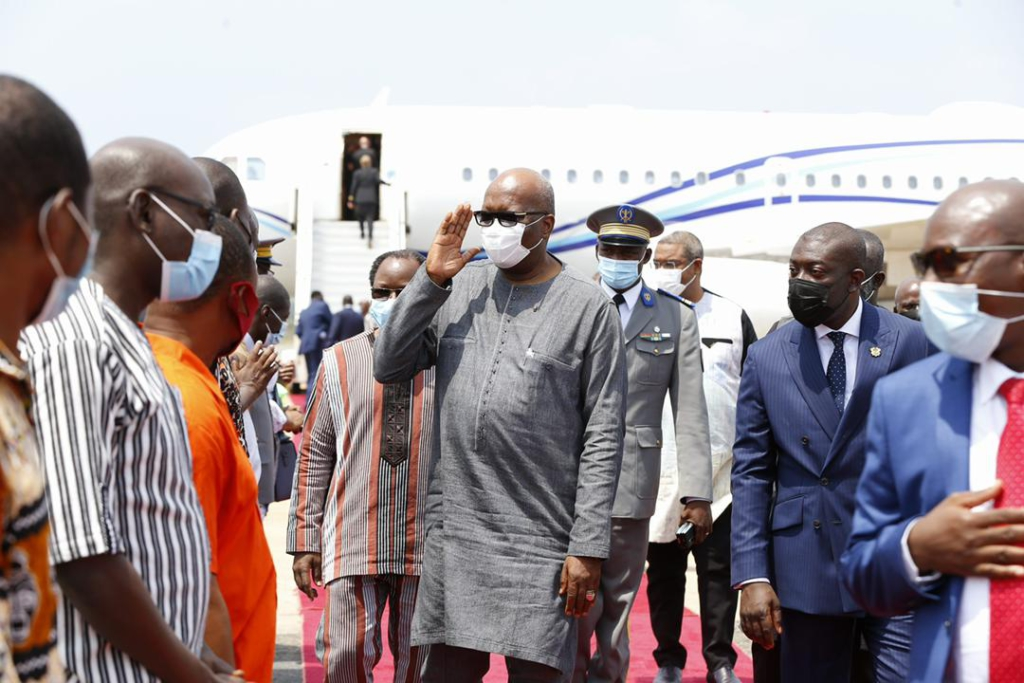 West African heads of states, state officials arrive in Accra for Extraordinary ECOWAS Summit