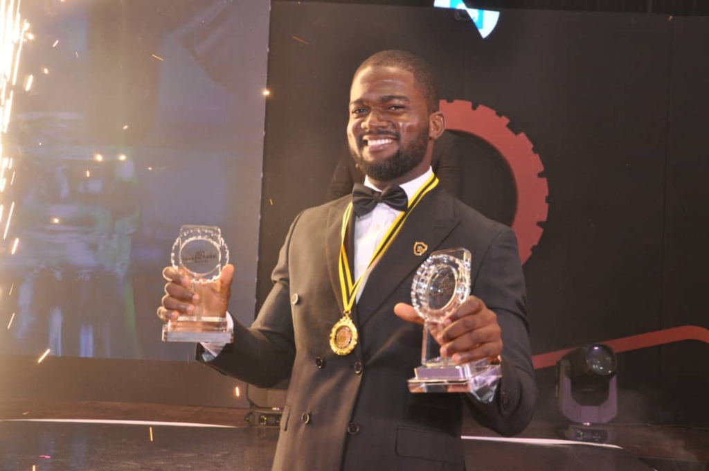 Caveman's Blue Volta awarded product of the year at the 5th Ghana Manufacturing Awards 2021