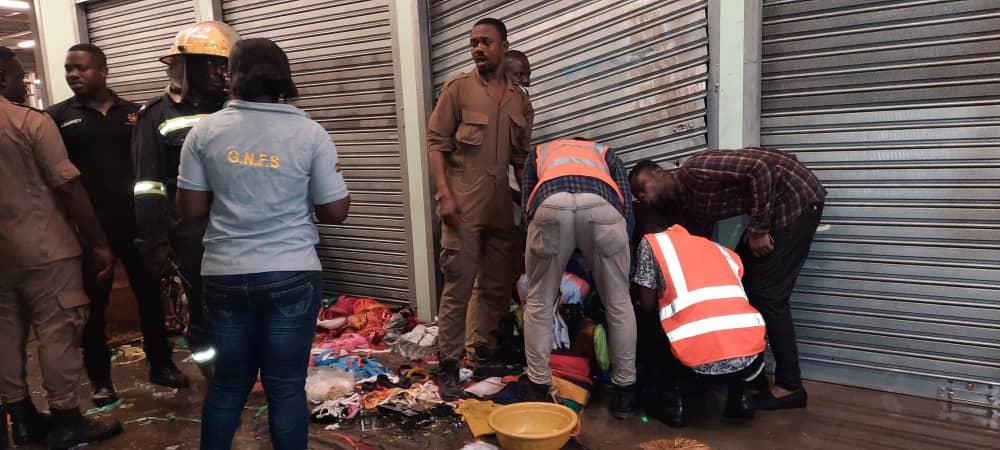 Fire guts new Kejetia Market