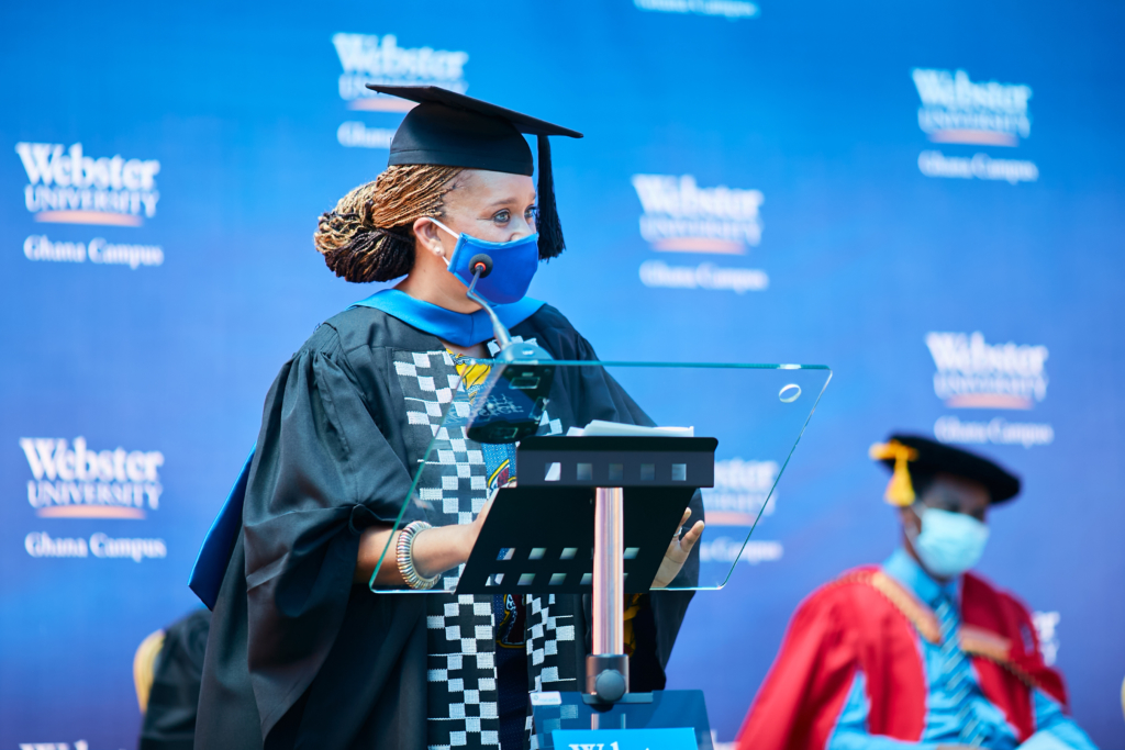 Webster University holds 7th commencement ceremony