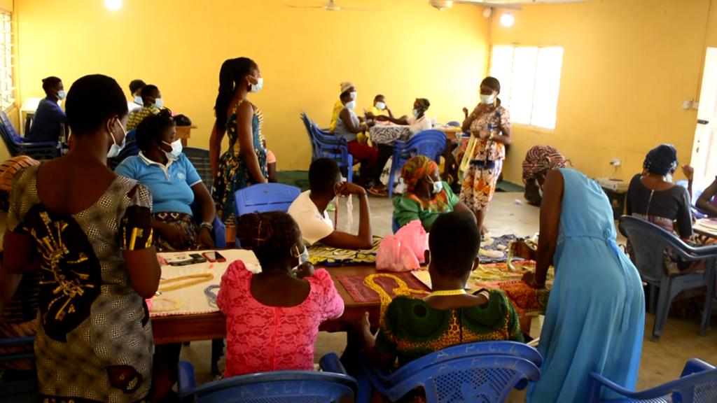 GSPD trains 40 women in bead making in Upper East