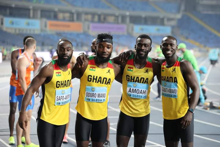 Ghana's 4x100m men's relay team set to pitch camp in Europe ahead of Olympics