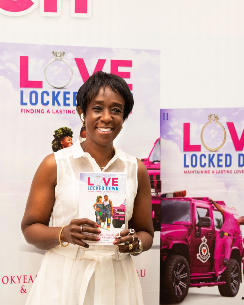 Okyeame Kwame and wife launch their first book 'Love Locked Down'