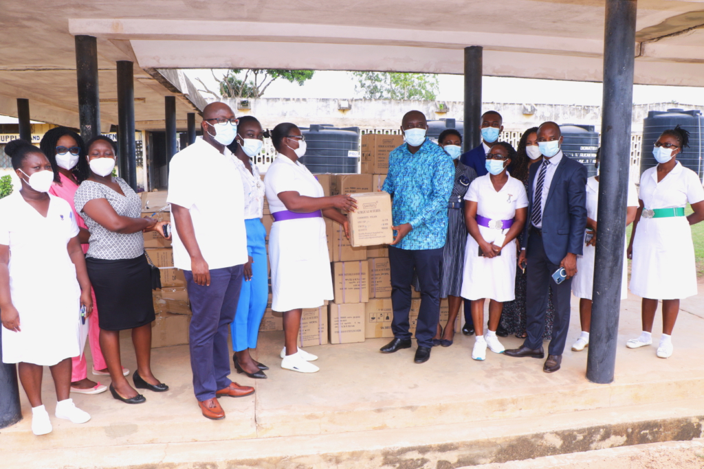 Universal Hospitals Group donates medical consumables to 2 health facilities