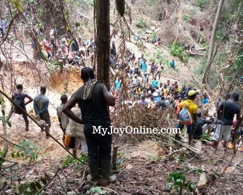 19 alleged national security operatives arrested for illegal mining in Atewa forest