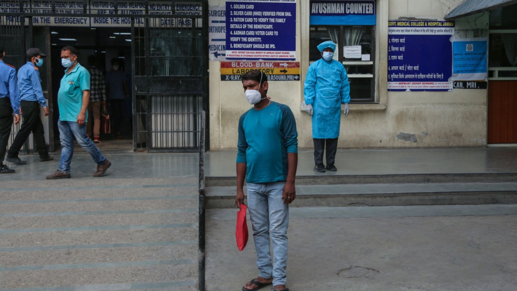 Covid-19 cases in India accounted for nearly half of worldwide coronavirus infections last week