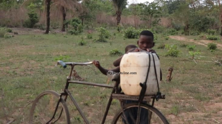3 communities in Krachi East Municipality calls on government for portable water
