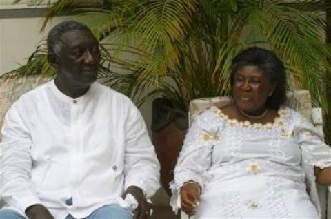 How Kufuor met his wife and married at age 23