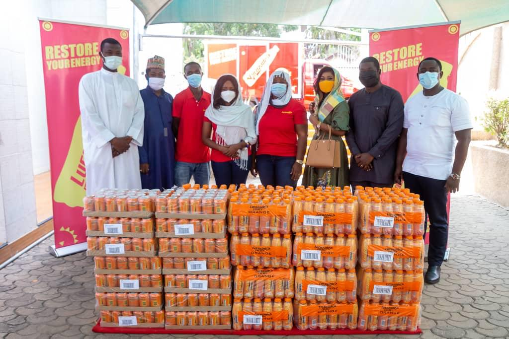 Lucozade Ghana refreshes 4,000 Muslims as they celebrate Eid ul-Fitr
