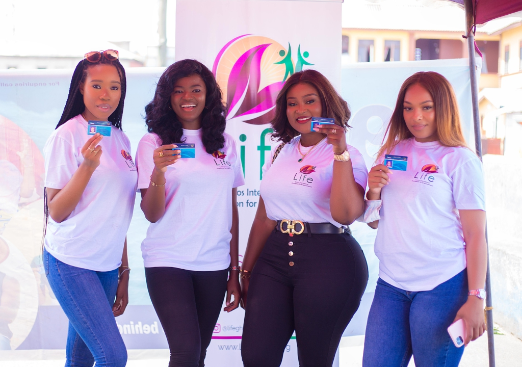Former Miss Ghana registers 1000 kids on NHIS