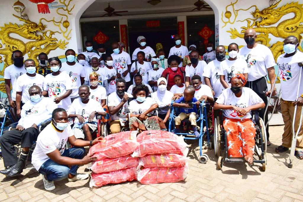 May 9 stadium disaster: Persons With Disabilities join in 20th anniversary celebration