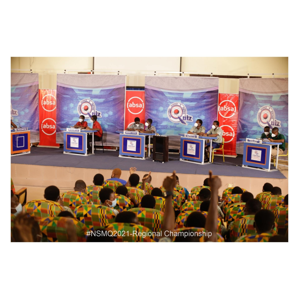 NSMQ 2021: Mfantsipim destroys Adisadel, University Practice and Assin State College to win Central Regional Championship