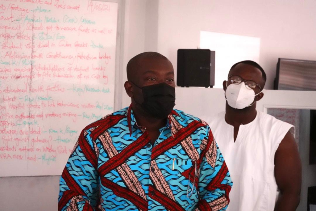 Information Minister visits Citi FM over alleged assault on 2 of its journalists