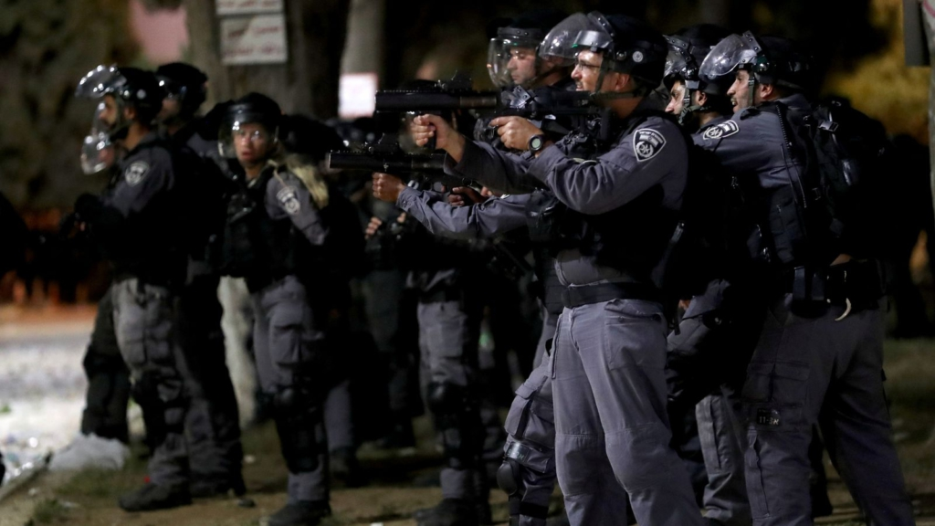 Over 130 injured as Palestinian worshippers clash with Israeli police at Al-Aqsa mosque