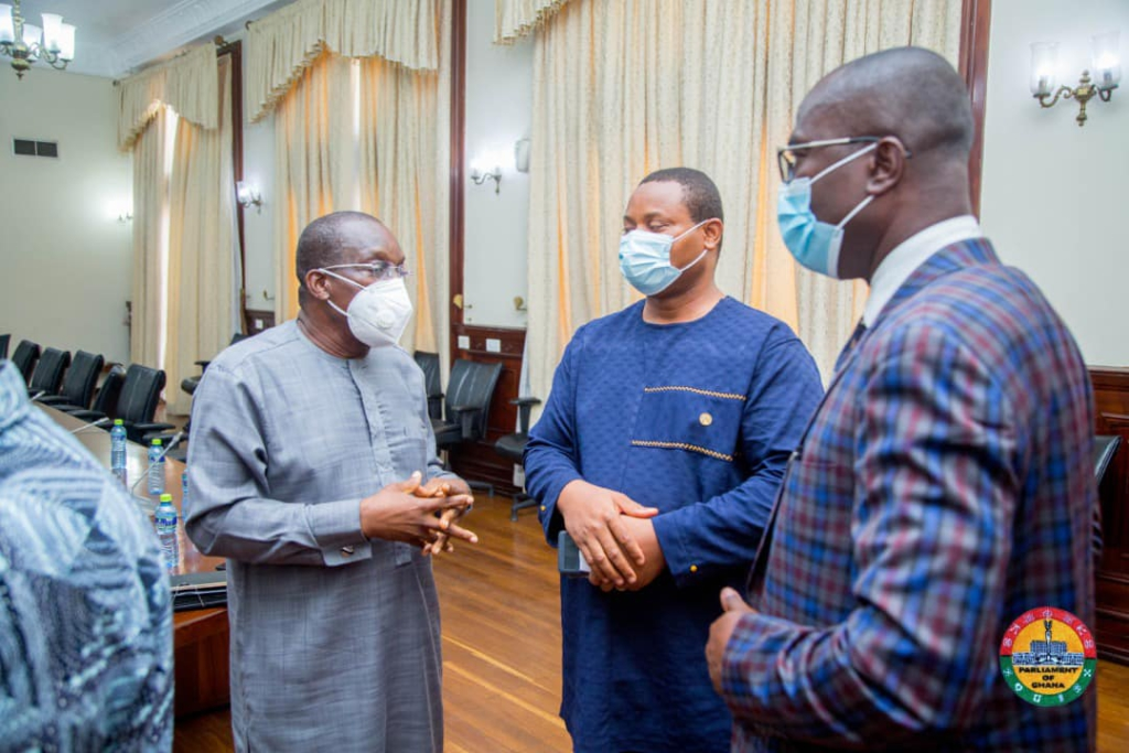 Speaker Alban Bagbin urges SALL residents to petition Parliament