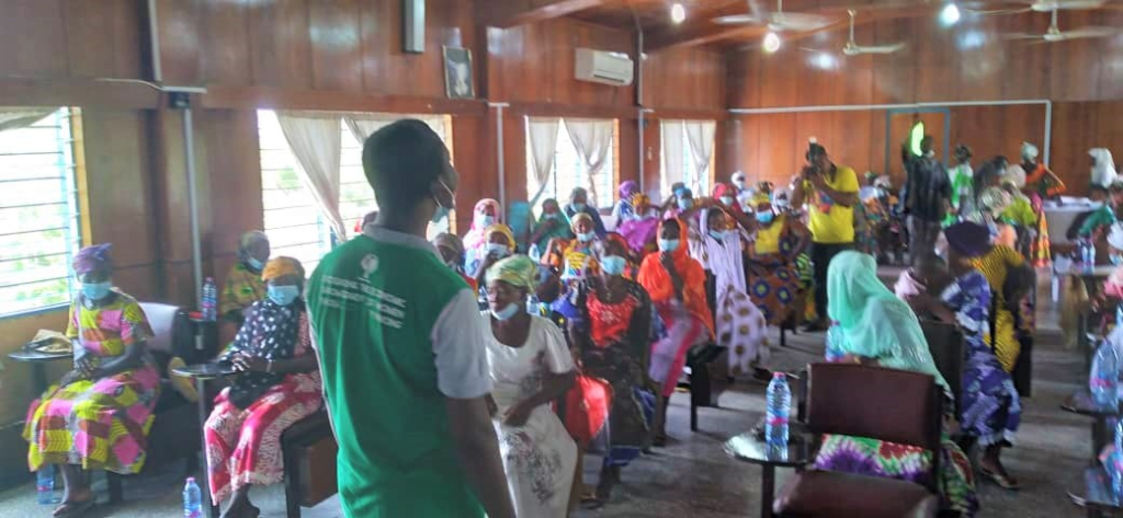 200 female farmers trained in Climate Smart Agricultural practices