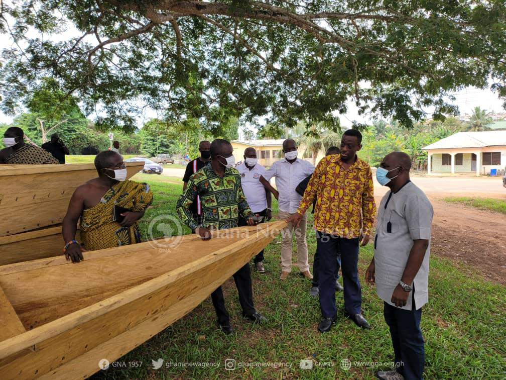 Galamsey: Ministers tour water bodies in Western Region