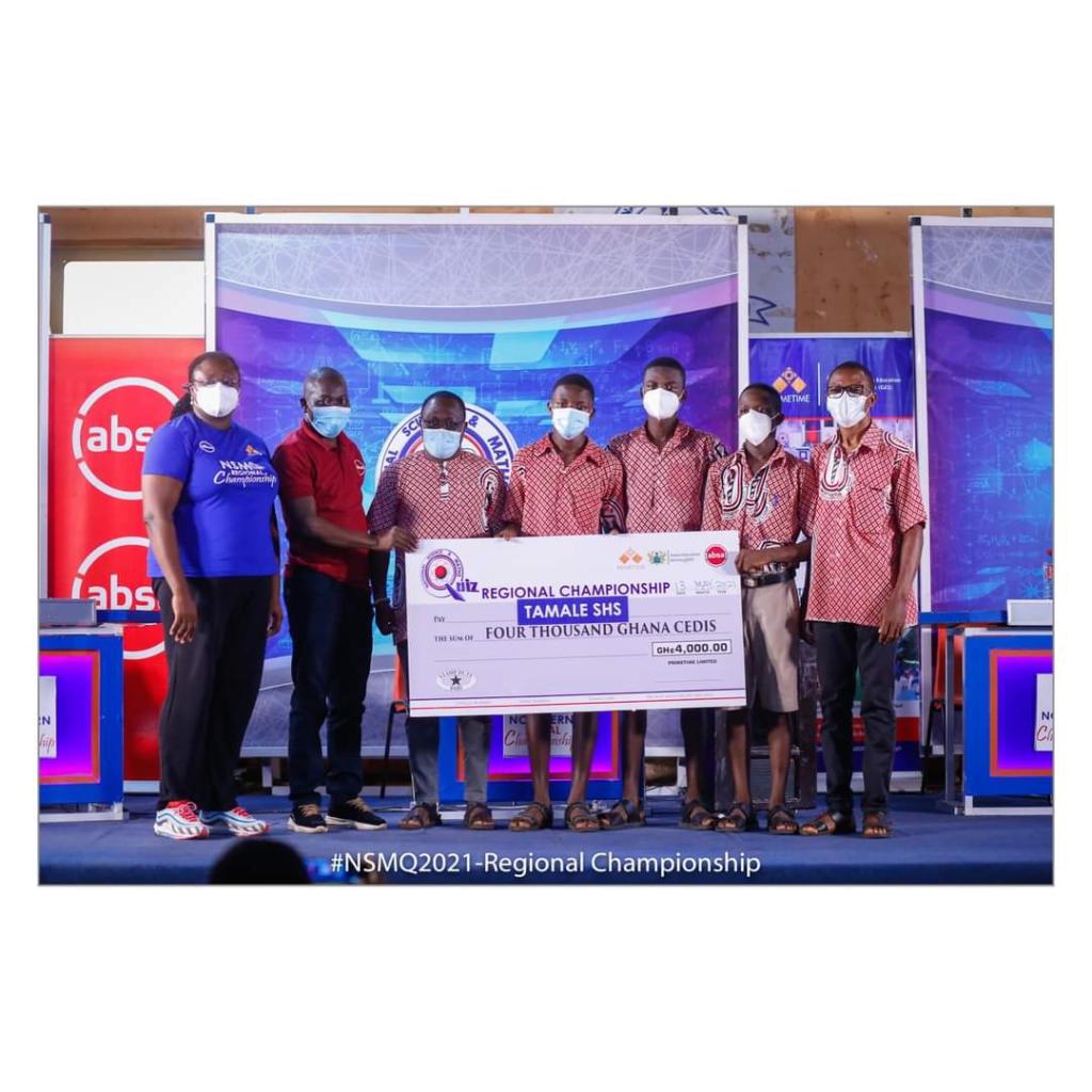 NSMQ2021: Perfect 'salah' gift as Tamale SHS wins maiden Northern Zonal Championship