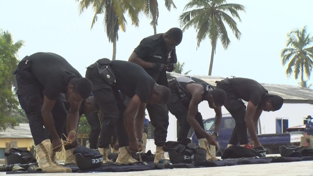 Over 200 police personnel deployed to enforce mining directives across Ghana