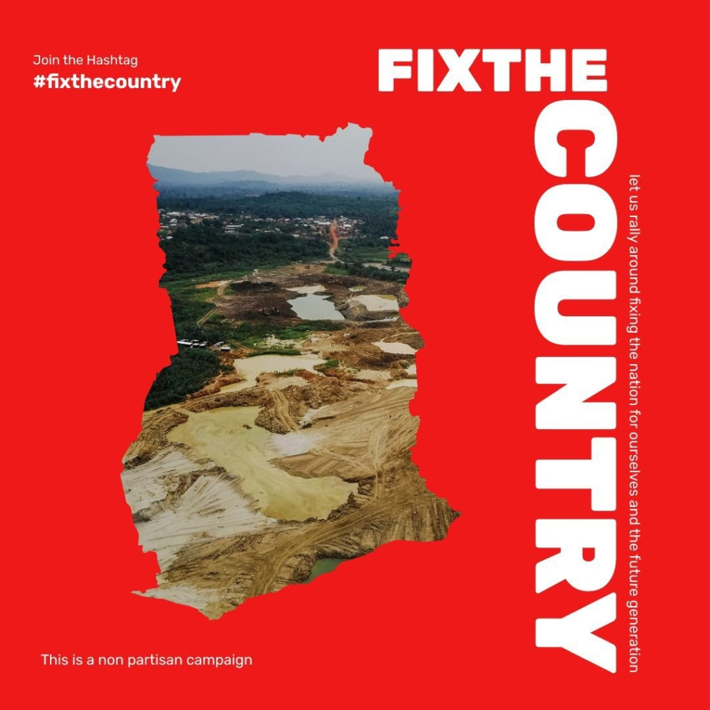 Kofi Tweneboah: #FixTheCountry - This is your chance to take a stand, fellow youth