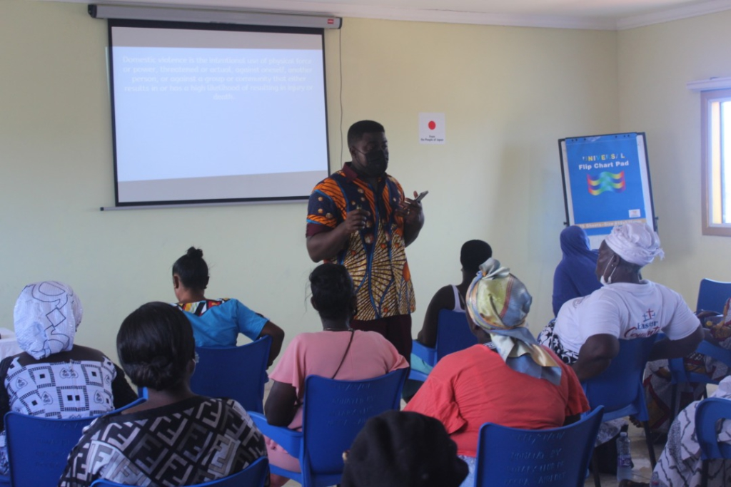 SCEF builds capacity of parents on domestic violence