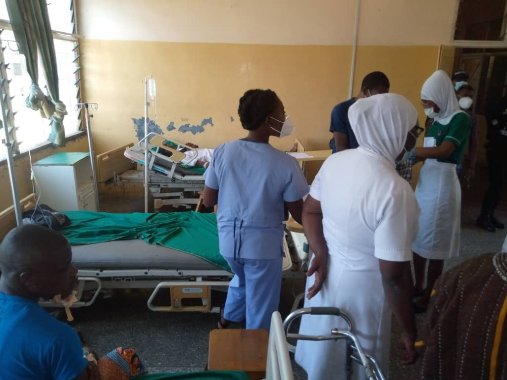 Council of State donates to inpatients of Bole Hospital
