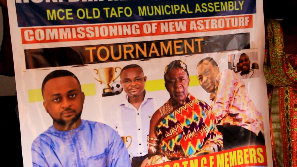 Tafohene furious over MP's failure to attend commissioning of astroturf