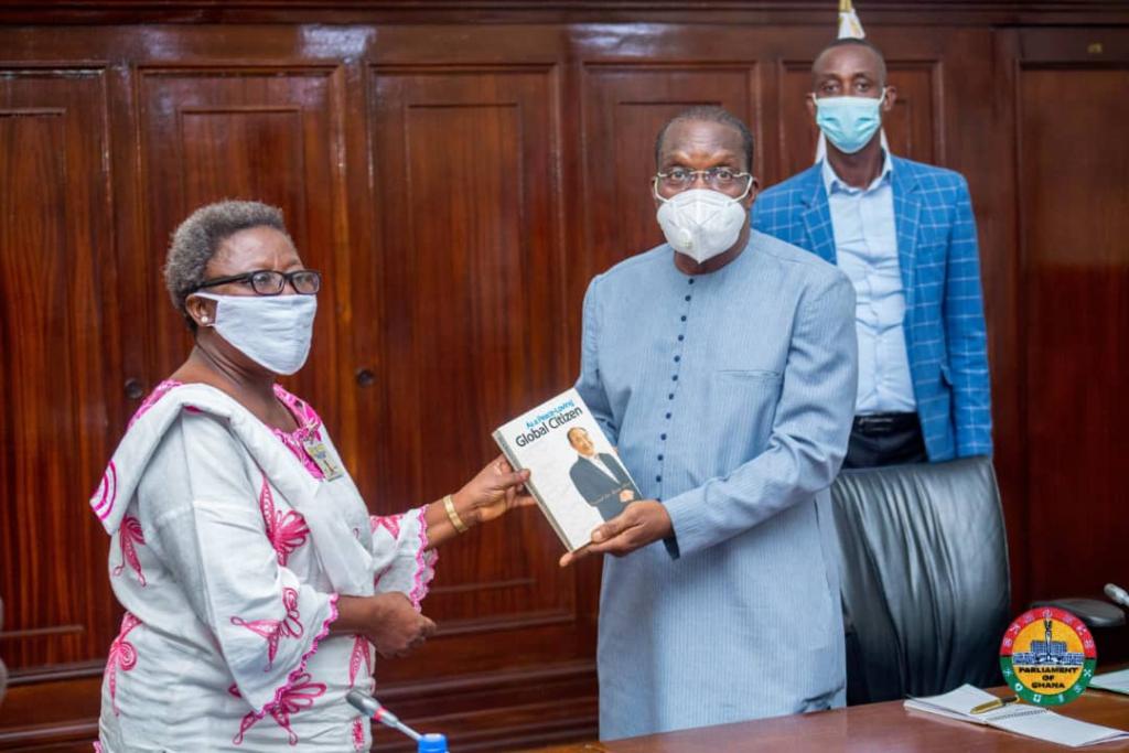 Help set up 'International Association of MPs for Peace' in Ghana - Speaker urged