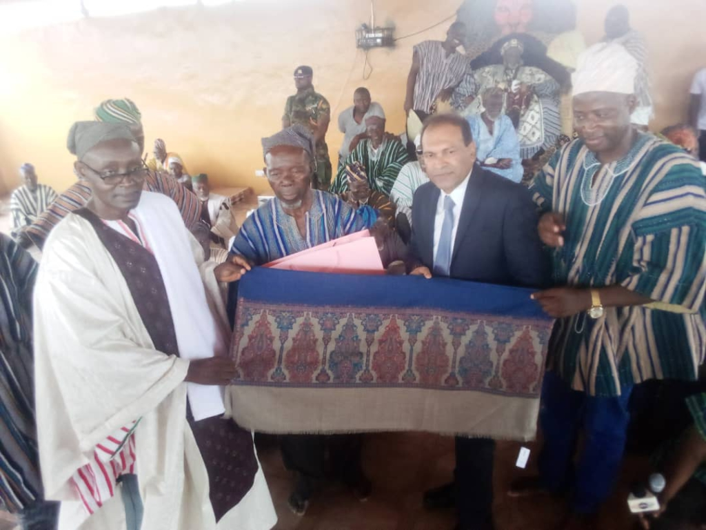 Overlord of Dagbon appeals for speedy work on water project in Yendi