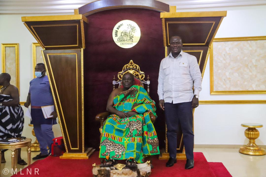 Okyenhene calls for suspension of mining in Ghana for a year