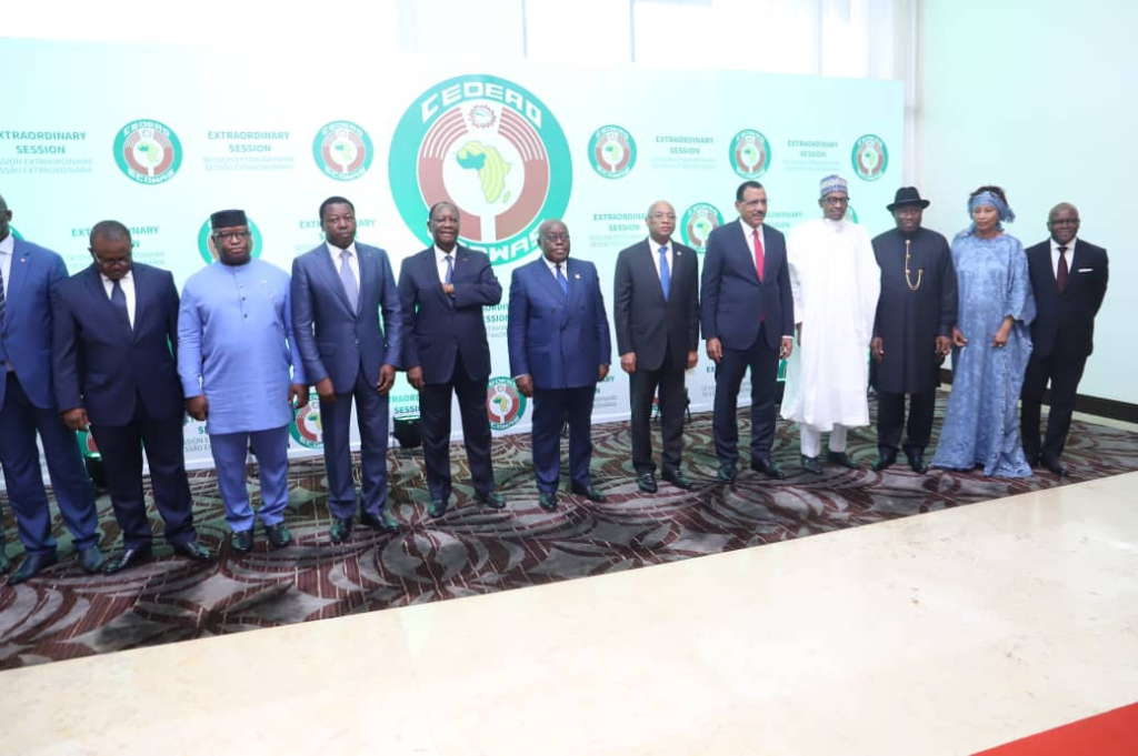 Akufo-Addo charges ECOWAS leaders to be resolute in bringing peace to Mali