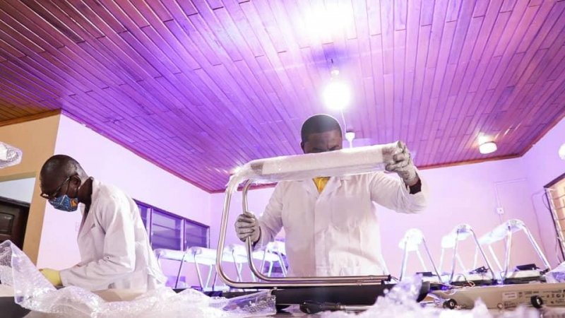 Health Minister applauds African Health Supplies for assembling firefly phototherapy equipment in Ghana