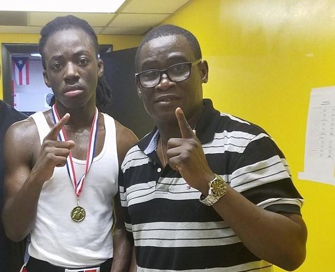Super welterweight prospect Eslih Owusu wins again