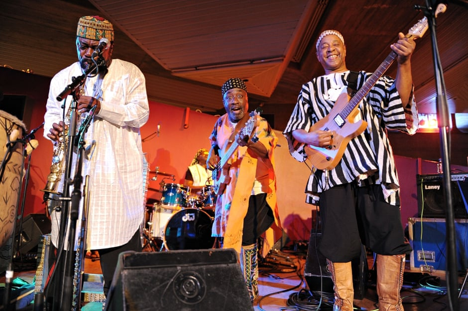 'Our ethos was happy music and good vibes': genre-busting Black British band Osibisa