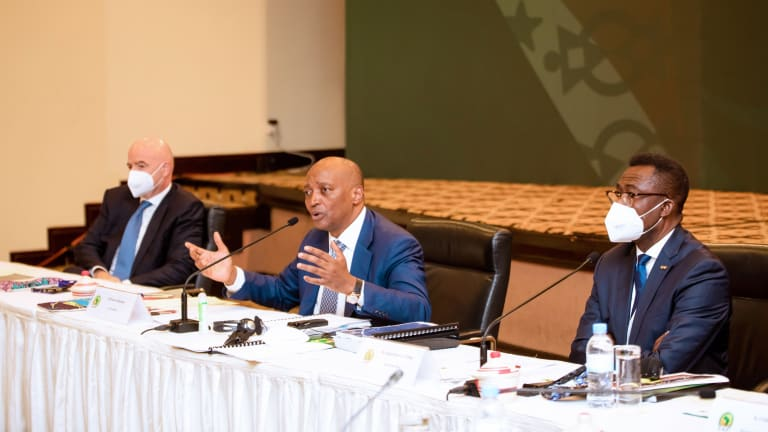 Clean your house; potential sponsors tell CAF - Motsepe reveals