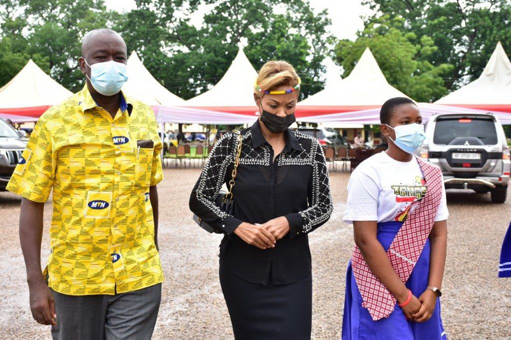 Photos: MTN commissions Girls' dormitory for Tamale SHS