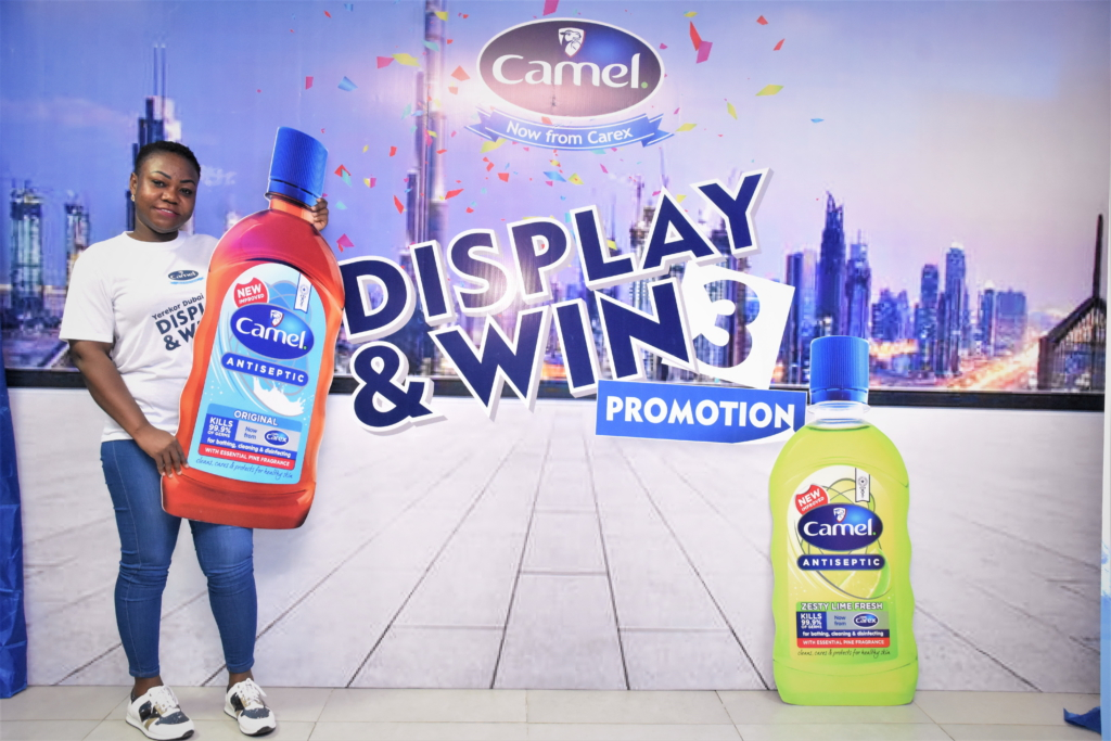 PZ Cussons Ghana rewards loyal retailers & wholesalers in the camel display & win promotion.