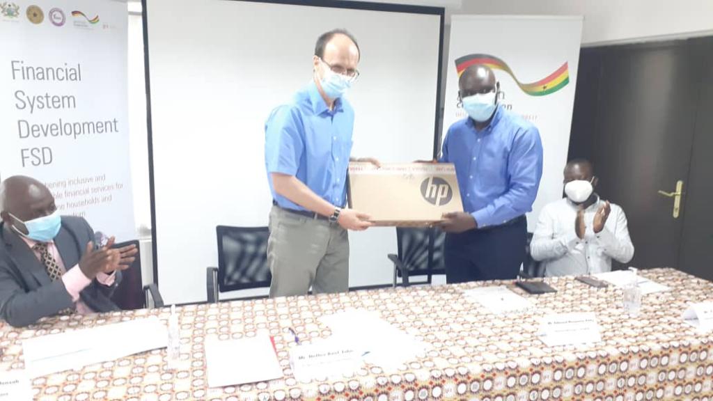 GIZ Ghana donates digital equipment to foster self-regulation amid Covid-19