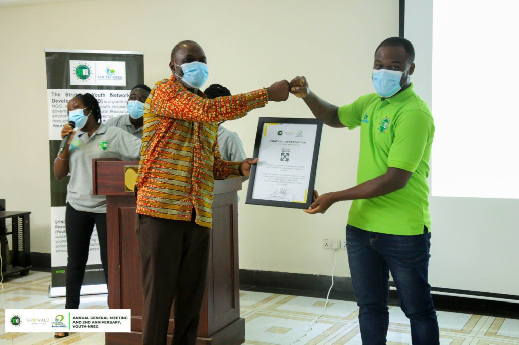 Contribute your quota to national development - Youth-NREG boss urges youth at 2nd Anniversary