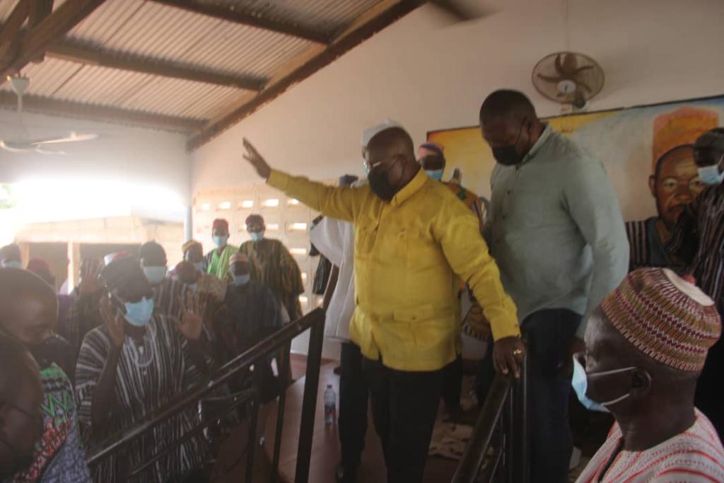 Akufo-Addo pledges to construct military barracks in Upper East Region