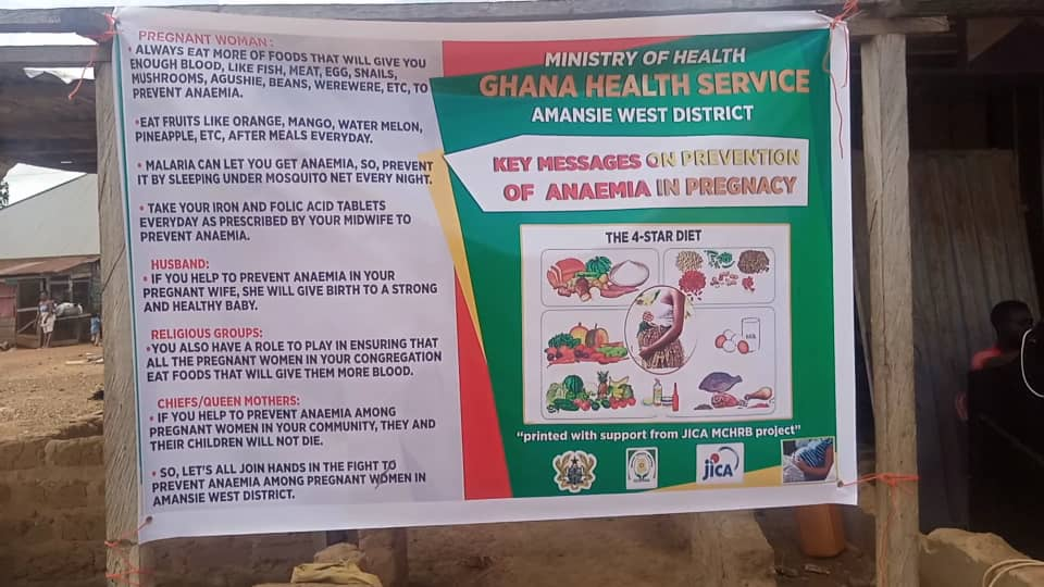 Amansie West District records 8.2% decrease in anaemia cases in 2020