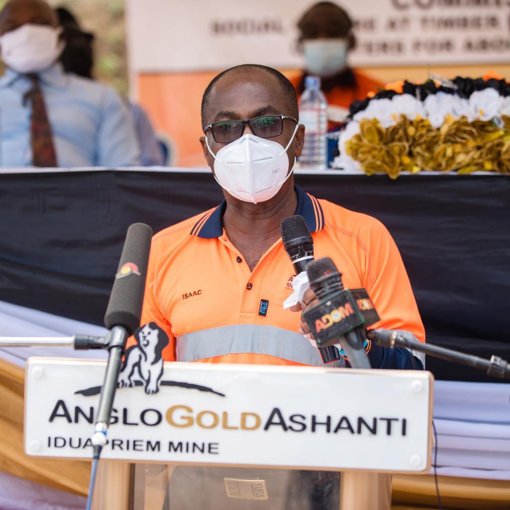 AngloGold Ashanti Iduapriem Mine commissions teachers' Quarters for Abompuniso Basic School