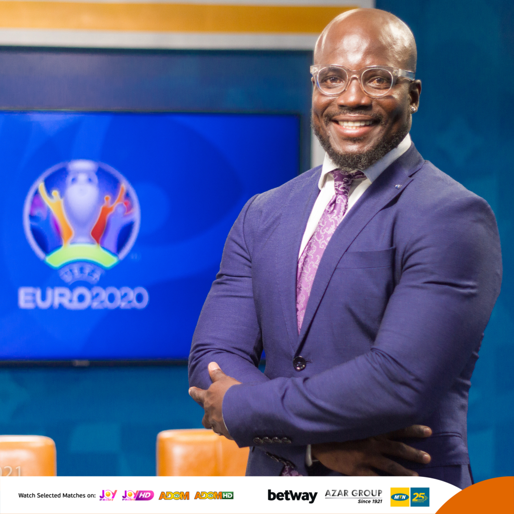 Behind the scenes: Stephen Appiah and Laryea Kingston when #EurosOnMGL cameras are off