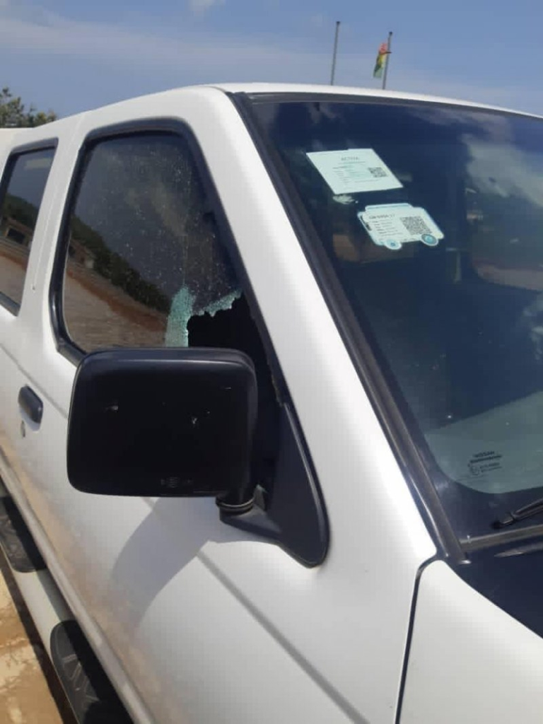 Bullion Van survives robbery attack in Winneba