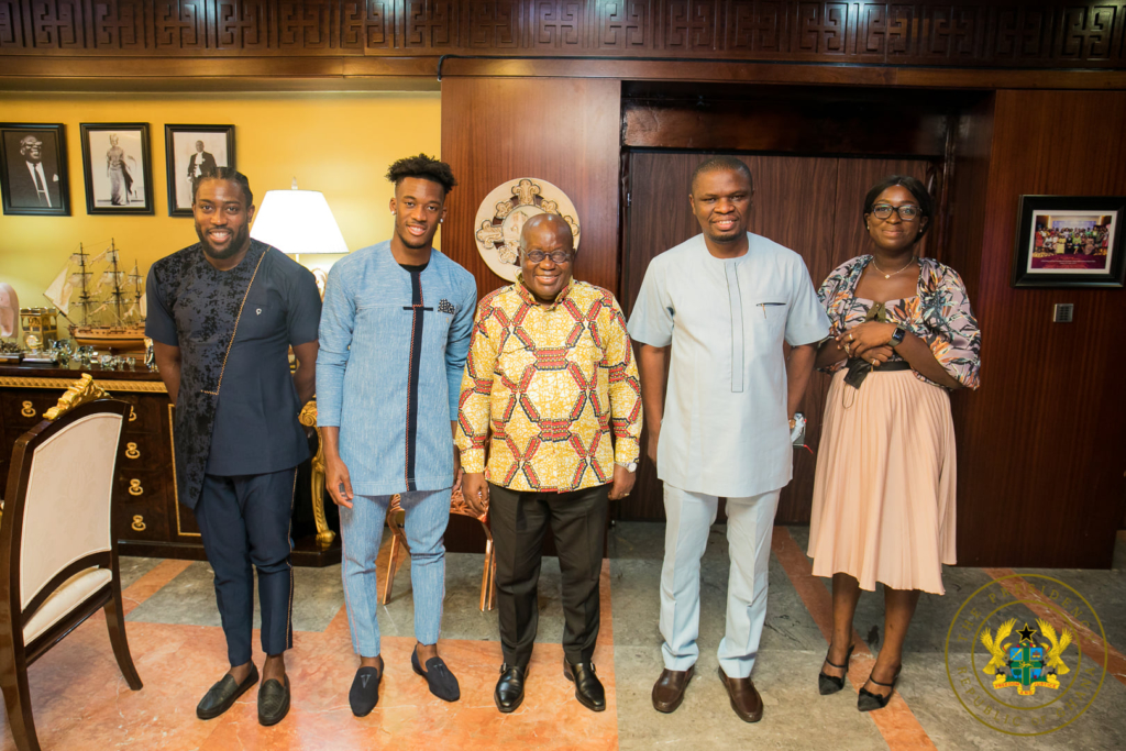Akufo-Addo urges Sports Minister to explore possibility of Hudson-Odoi playing for Ghana