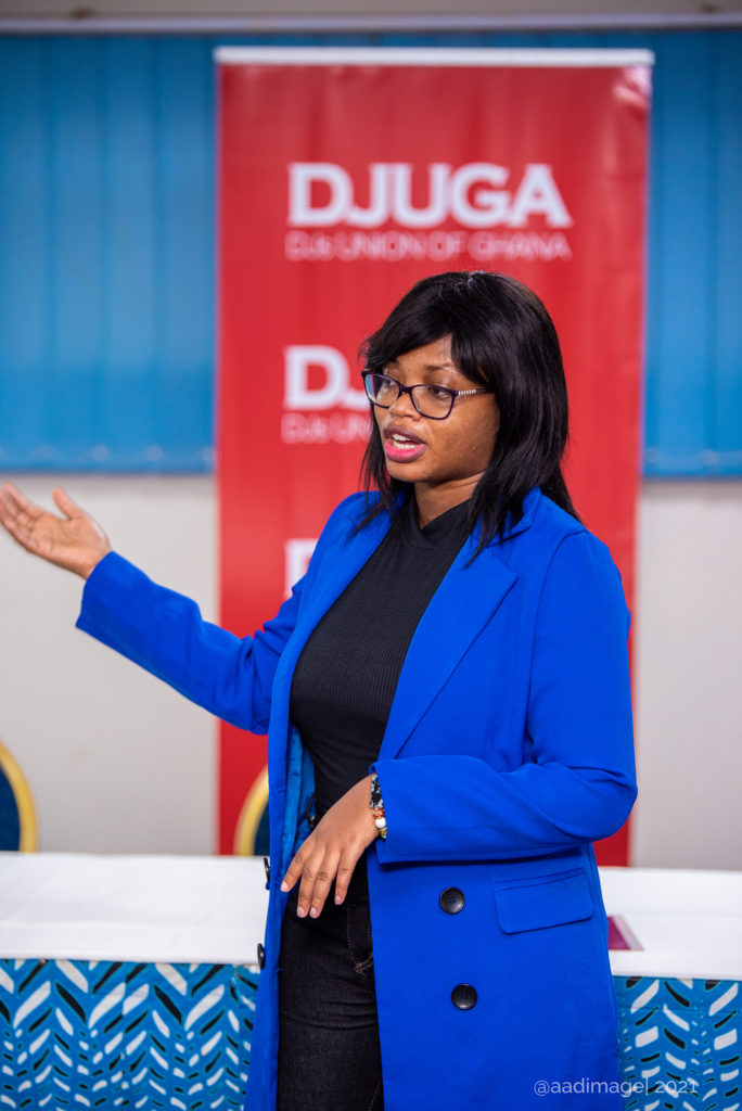 DJUGA holds workshop for members