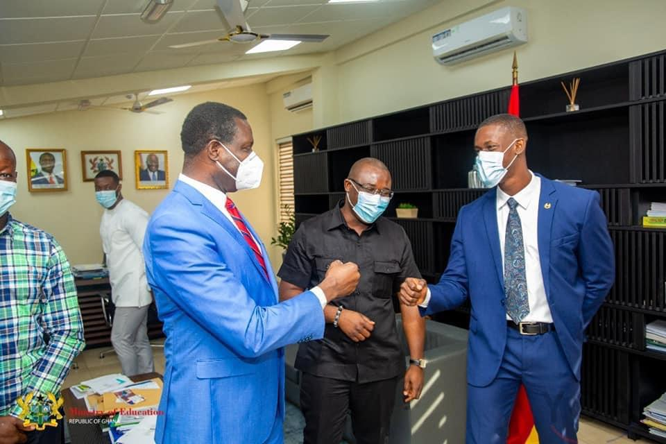All-Africa Students Union pays working visit to Education Ministry